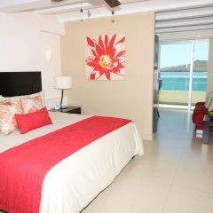 Отель Las Flores Beach Resort комната для гостей