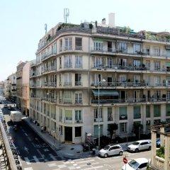 Отель PLAISANCE Ницца балкон