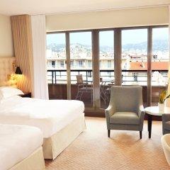 Отель Hyatt Regency Nice Palais de la Méditerranée 5* Улучшенный номер с различными типами кроватей фото 4