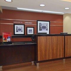 Отель Hampton Inn Columbus-International Airport США, Колумбус - отзывы, цены и фото номеров - забронировать отель Hampton Inn Columbus-International Airport онлайн интерьер отеля