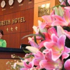 Green Hotel фитнесс-зал