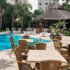 Отель El Oumnia Puerto Марокко, Танжер - отзывы, цены и фото номеров - забронировать отель El Oumnia Puerto онлайн бассейн фото 2