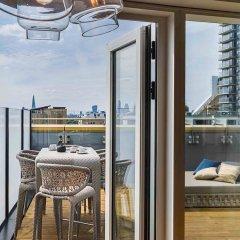 Novotel London Canary Wharf Hotel балкон