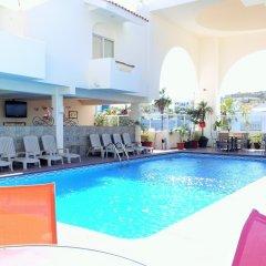 Отель & Suites Las Palmas Мексика, Сан-Хосе-дель-Кабо - отзывы, цены и фото номеров - забронировать отель & Suites Las Palmas онлайн бассейн фото 3