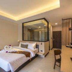 Отель Chermantra Aonang Resort and Pool Suite комната для гостей фото 2