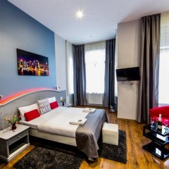 Full Moon Design Hostel Budapest комната для гостей
