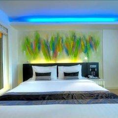 Отель Aspira Skyy Sukhumvit 1 Таиланд, Бангкок - отзывы, цены и фото номеров - забронировать отель Aspira Skyy Sukhumvit 1 онлайн комната для гостей фото 5