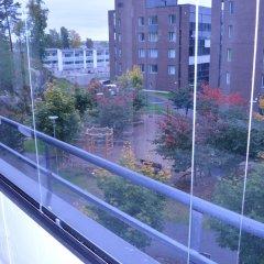 Отель Avia Suites Aviapolis 1 Финляндия, Вантаа - отзывы, цены и фото номеров - забронировать отель Avia Suites Aviapolis 1 онлайн балкон
