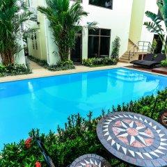 Palm Oasis Boutique Hotel бассейн фото 6