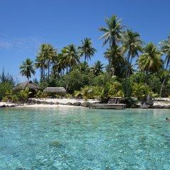Отель Tahiti Sail and Dive Французская Полинезия, Бора-Бора - отзывы, цены и фото номеров - забронировать отель Tahiti Sail and Dive онлайн пляж фото 3