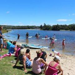 Отель Holiday Haven Burrill Lake Австралия, Сассекс-Инлет - отзывы, цены и фото номеров - забронировать отель Holiday Haven Burrill Lake онлайн фитнесс-зал фото 2