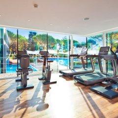 Отель Beau-Rivage Palace фитнесс-зал фото 2