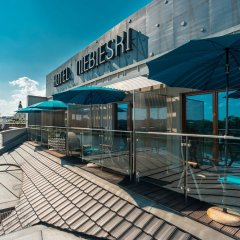 Niebieski Art Hotel & Spa балкон