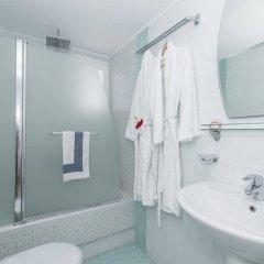 Отель Bella Santorini Studios ванная фото 2