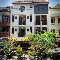 Vinh Hung Library Hotel Хойан вид на фасад