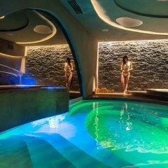 Отель Mediterranean Palace Салоники бассейн