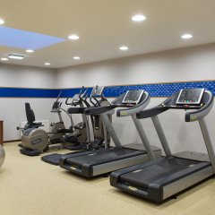 Гостиница Hampton by Hilton Moscow Strogino (Хэмптон бай Хилтон) фитнесс-зал фото 2