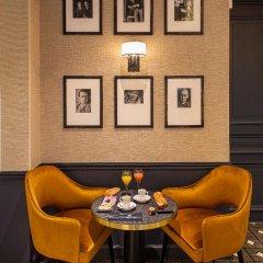 Отель Lenox Montparnasse Hotel Франция, Париж - 1 отзыв об отеле, цены и фото номеров - забронировать отель Lenox Montparnasse Hotel онлайн питание фото 3