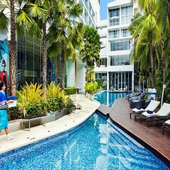 Отель Baraquda Pattaya - MGallery by Sofitel бассейн фото 3