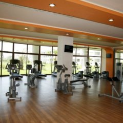 Отель The Kumul Deluxe Resort & Spa Сиде фитнесс-зал