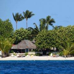 Отель Village Temanuata Французская Полинезия, Бора-Бора - отзывы, цены и фото номеров - забронировать отель Village Temanuata онлайн пляж