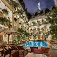 Отель Grand Hotel Saigon Вьетнам, Хошимин - отзывы, цены и фото номеров - забронировать отель Grand Hotel Saigon онлайн бассейн