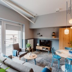Апартаменты Mosquito Silesia Apartments Катовице комната для гостей фото 5