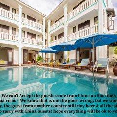 Отель Hoi An Estuary Villa Вьетнам, Хойан - отзывы, цены и фото номеров - забронировать отель Hoi An Estuary Villa онлайн бассейн