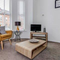 Отель Fantastically Modern, Clean 1 Bedroom Flat for 4 комната для гостей фото 3