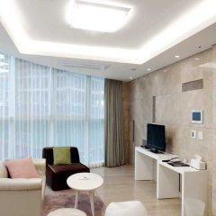 Отель The River Serviced Residence Seoul Южная Корея, Сеул - отзывы, цены и фото номеров - забронировать отель The River Serviced Residence Seoul онлайн комната для гостей фото 5