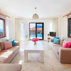 Villa Air Турция, Калкан - отзывы, цены и фото номеров - забронировать отель Villa Air онлайн комната для гостей фото 5
