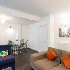 Апартаменты Knightsbridge- 28 Hans Rd Apartments Лондон комната для гостей
