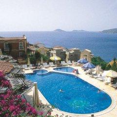 Xanthos Club Турция, Калкан - отзывы, цены и фото номеров - забронировать отель Xanthos Club онлайн бассейн фото 2