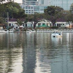 Отель MONTIEN Бангкок приотельная территория