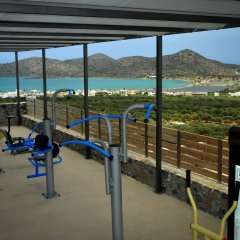 Отель Elounda Water Park Residence фитнесс-зал