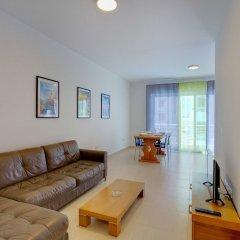 Отель Cosy 1 Bedroom Sliema Apartment, Best Location Мальта, Слима - отзывы, цены и фото номеров - забронировать отель Cosy 1 Bedroom Sliema Apartment, Best Location онлайн комната для гостей фото 4