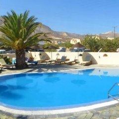 Отель Avraki Hotel Греция, Остров Санторини - отзывы, цены и фото номеров - забронировать отель Avraki Hotel онлайн бассейн фото 2