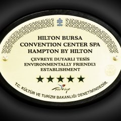 Hilton Bursa Convention Center & Spa Турция, Бурса - отзывы, цены и фото номеров - забронировать отель Hilton Bursa Convention Center & Spa онлайн в номере фото 2