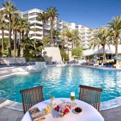 Отель Novotel Cannes Montfleury Франция, Канны - отзывы, цены и фото номеров - забронировать отель Novotel Cannes Montfleury онлайн бассейн