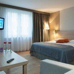 Отель Scandic Wroclaw 4* Стандартный номер с различными типами кроватей фото 5