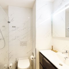 Отель Citadines Sloterdijk Station Amsterdam Нидерланды, Амстердам - отзывы, цены и фото номеров - забронировать отель Citadines Sloterdijk Station Amsterdam онлайн ванная