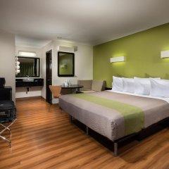 Отель Motel 6 Canoga Park США, Лос-Анджелес - отзывы, цены и фото номеров - забронировать отель Motel 6 Canoga Park онлайн комната для гостей