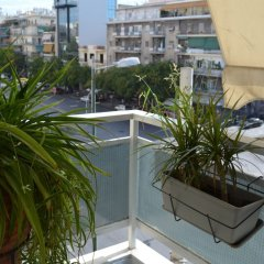 Отель Kallirrois Apt - Sweet Home 4 балкон