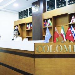 Hotel Colombi интерьер отеля
