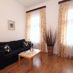 Отель V lesicku residence Чехия, Прага - отзывы, цены и фото номеров - забронировать отель V lesicku residence онлайн комната для гостей фото 2