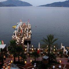 Elegance Hotels International Турция, Мармарис - отзывы, цены и фото номеров - забронировать отель Elegance Hotels International онлайн пляж