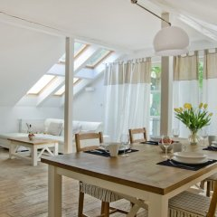 Апартаменты Imperial Apartments - Nautica Сопот комната для гостей