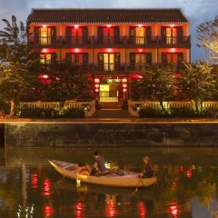 Little Hoian Boutique Hotel & Spa Хойан балкон