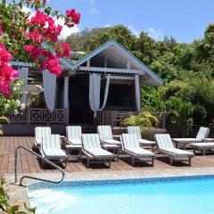 Отель Beachcombers Hotel Сент-Винсент и Гренадины, Остров Бекия - отзывы, цены и фото номеров - забронировать отель Beachcombers Hotel онлайн бассейн фото 2