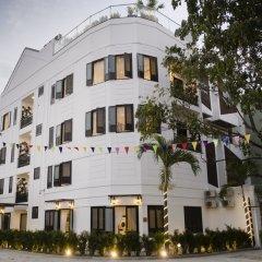 Minh Tran Apartment and Hotel Hoi An Хойан вид на фасад
